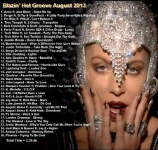 Promo Video Compilation DVD, Blazin Hot Groove August 2013 FRESHEST ONLY on EBAY