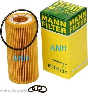 MANN-FILTER HU721/3X Oil Filter