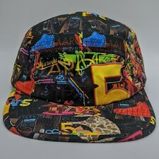 Maroon 5 All Over Print 5 Panel Hat Strapback Concert Tour Cap Live Nation Merch