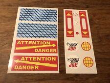 G.I. Joe - ATV Group Action Die Cut Decals