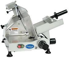 "Globe C12 12"" Chefmate Manual Electric Food Slicer Light Duty .33 HP"