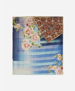 Rectangular cushion flower poppy spring customizable 40x28cm ref 612