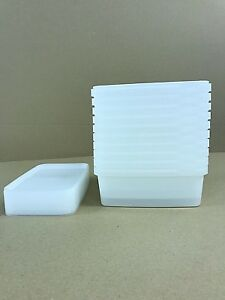 Plastic Storage Containers 50 x 1ltr Tamper Evident