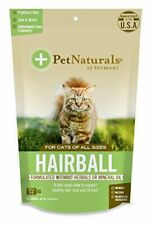 (4 Pack) Pet Naturals of Vermont Hairball Supplement for Cats 30 Chews 1.59oz
