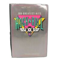 Rock-N-Roll set of 8 cassettes- 100 Greatest Hits