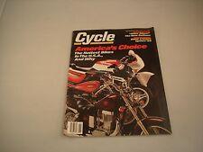 CYCLE MAGAZINE NOVEMBER 1987 VOLUME XXXVIII NUMBER 11