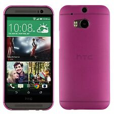 Yemota Pro HTC One M8 Hard Slim Case Schutz Hülle Cover Bumper Tasche Pink