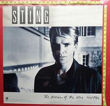 "Sting of the Police,24""x24"", Poster,Very Rare Original record company promo,"