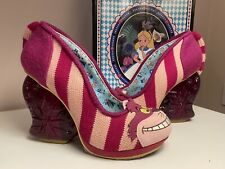 Irregular Choice Alice In Wonderland Cheshire Cat Heels 38/5