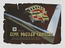 ELVIS PRESLEY piece of interior from a 1977 CADILLAC owned relic swatch personal