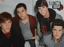 BIG TIME RUSH - A3 Poster (ca. 42 x 28 cm) - Logan Clippings Fan Sammlung NEU