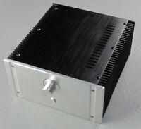New 2412C Full Aluminum Enclosure/ Mini AMP Case/Power Amplifier Chassis DIY Box