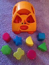 Smoby Cotoons Steckspielzeug Haus Formensortierer Spielzeughaus Blau 110403☺ Spielzeug