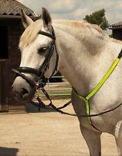 Harlequin Reflective Horse/ Pony Hi vis Neck Band Fleece Lining Yellow