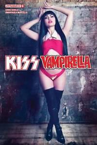 KISS VAMPIRELLA #3 COVER D COSPLAY PHOTO DYNAMITE ENTERTAINMENT COMICS 1ST PRINT