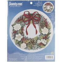 """Janlynn Counted Cross Stitch Kit 15.25""""x14.25""""-christmas Traditions (14 Count)"""
