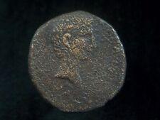 Roman AE As of Emperor Augustus, 19-4 BC  AC0198