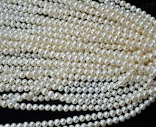 AA wholesale 4-5mm genuine freshwater pearl strands free shippin