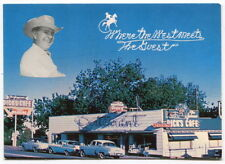 "Old Business Card ""DICK'S CAFE - Where The West Meets The Guest"" [St George, UT]"
