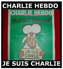 Original CHARLIE HEBDO Je suis Charly Paris 1st Print 14.1.2015 N°1178 magazin