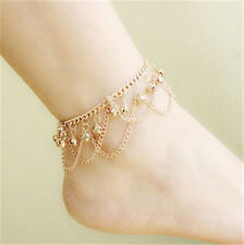Super Charm Gold Plated Sexy Summer Fashion Anklet For Girl Women Wholesale