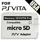V5.0 SD2VITA PSVSD MicroSD Memory Card Pro Adapter For PS Vita Henkaku 3.60-3.70