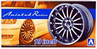 Aoshima 55274 Tuned Parts 85 1/24 Amistad Rotino 19 inch Tire & Wheel set