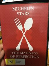 Michelin Stars - The Madness of Perfection DVD (RARE 2010 food documentary)