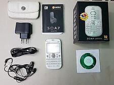 Smartphone Cellulare NGM Vanity Qwerty White Bianco Dual SIM con Custodia