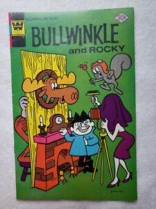 Bullwinkle and Rocky #15 (Mar 1977, Whitman) [FN 6.0]