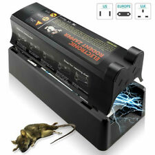 Electronic Humane Rodent Zapper Clean Mouse Trap Killer For Rats Mice SK