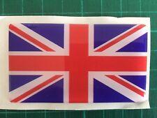 Car Emblem Union Jack Car Badge Decal Self Adhesive Sticker 3D Resin domed UK