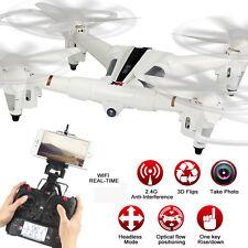 XK X300-W Escobillas RC Dron RTF WiFi FPV 720P HD 2,4GHz 8CH 6-ejes Gyro óptica