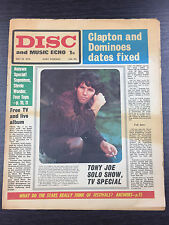 DISC and Music Echo Feat Tony Joe White & More: July 18, 1970