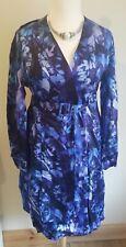 KATE MACMAHON Designer at Debenhams Floral Midi Wrap Dress NWT RRP €130 UK14