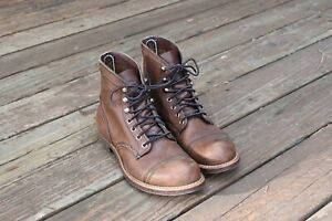 Red Wing Iron Ranger 8111 Amber Size 8D EUR 41