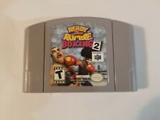 Ready 2 Rumble Boxing: Round 2 (Nintendo 64, 2000) great, tested, FREE SHIPPING
