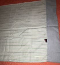 tommy hilfiger Pair Of Standard Pillowcases Stripes Blue Bedding Linens Cotton