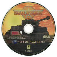 Iron Storm Sega Saturn Disc Only - Tested - Working Designs