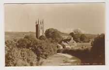 Devon postcard - Widecombe in the Moor - RP - P/U 1925