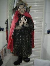 Marionette ALTE HEXE ca. 1 Meter groà