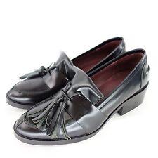 SIXTYSEVEN 67 Loafer Halbschuh Gr 36 Schwarz echt Leder Schuhe NP 115,- NEU