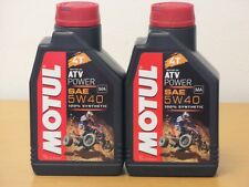 16,98€/l Motul ATV Power 5W40 4T 2 x 1 Ltr vollsyn für ATV / SSV / SXS  Quads