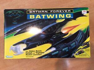 BATMAN FOREVER BATWING COCKPIT & LAUNCHER NEW UNASSEMBLED 1995