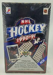 1990-91 Upper Deck Hockey - Low Number Box - Factory Sealed - 36 Packs - Jagr RC