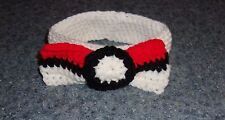 New listing Brand New Crocheted Pokemon Pokebow Dog Bow Tie Collar For Dog Rescue Charity