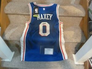 TYRESE MAXEY Signed 76ers Nike Autograph Auto NBA Swingman Rookie Jersey RARE