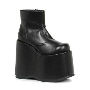 Ellie 500-FRANK Men's Frankenstein Munsters Addams Family Platform Ankle Boot