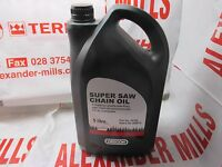 Oregon Chainsaw Chain Oil 5L Litres Anti-Fling Non-Fling Oil Stihl Husqvarna