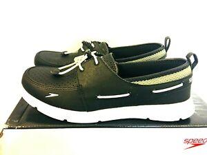 NEW Speedo Women's Port Water Shoe Boat Shoe - BLACK - SIZE 6, 7 - 8J_29